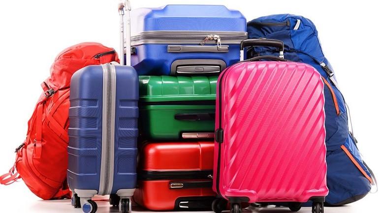 Много вещей в багаже