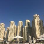 Пляж в районе Дубай Марина: обзор с фото