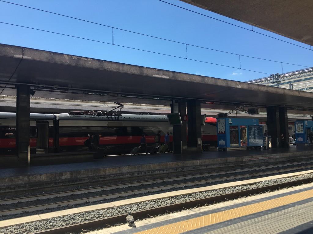 Железнодорожный вокзал в Риме