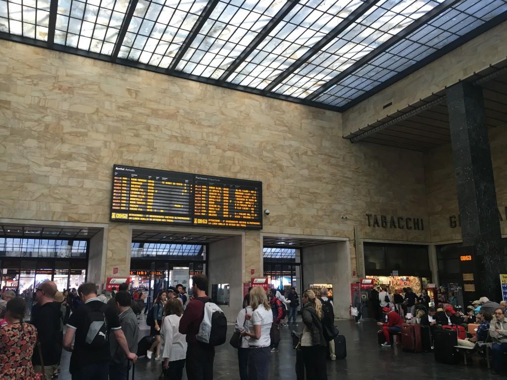 Железнодорожный вокзал Флоренции