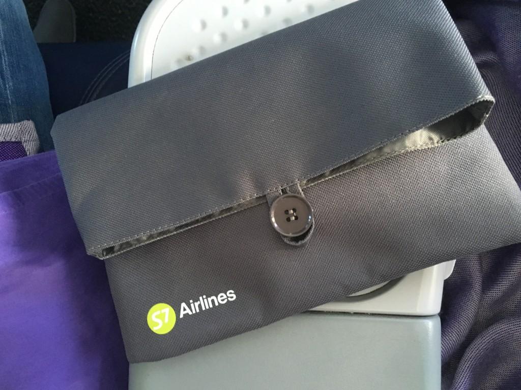 Дорожный набор для пассажиров бизнес-класса