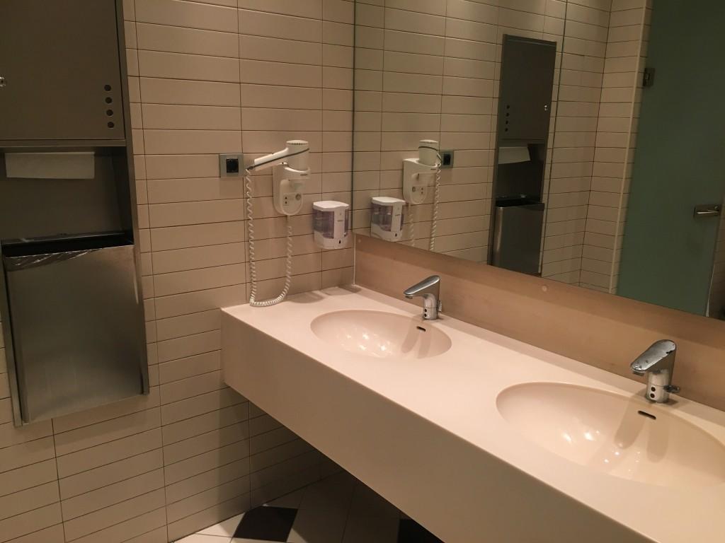 Бизнес зал Домодедово - туалет