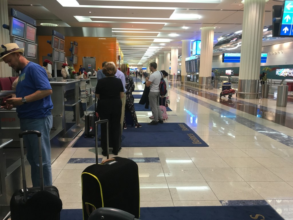 Стойки регистрации для пассажиров бизнес-класса