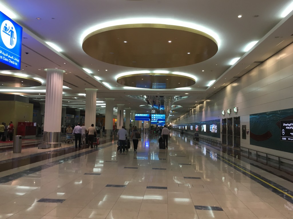 Терминал Emirates в Дубае