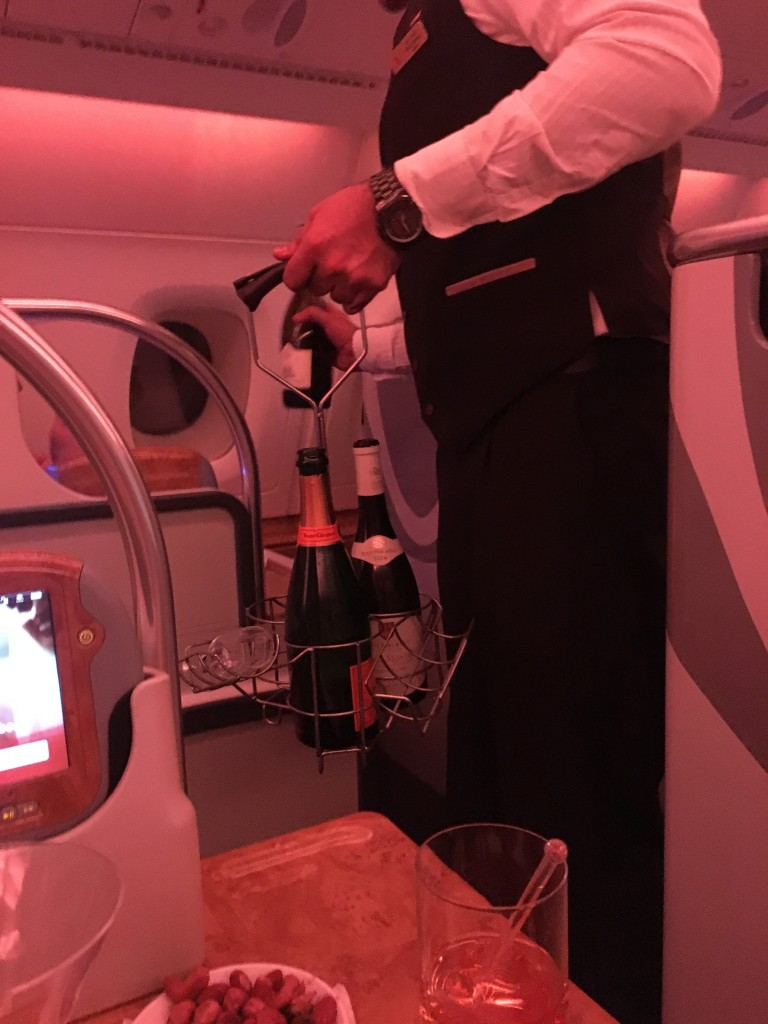 Бизнес класс Emirates