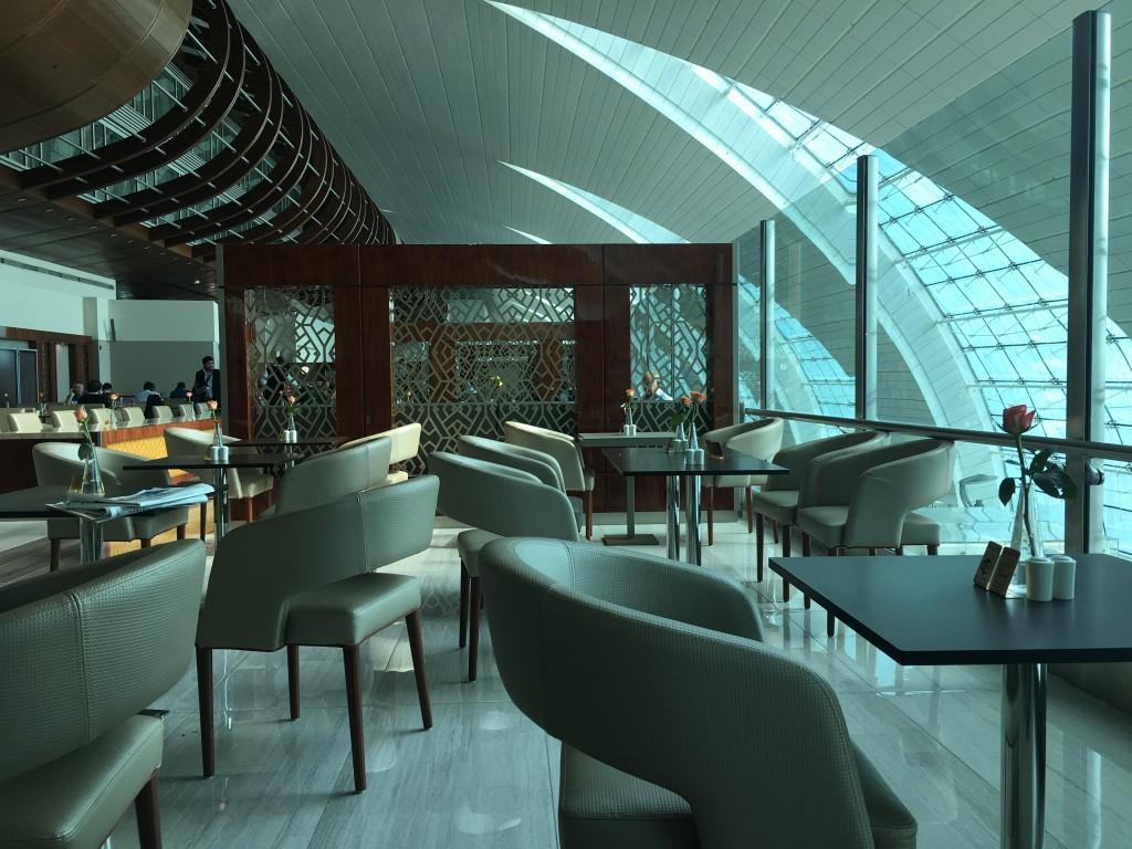 Бизнес лаунж Emirates