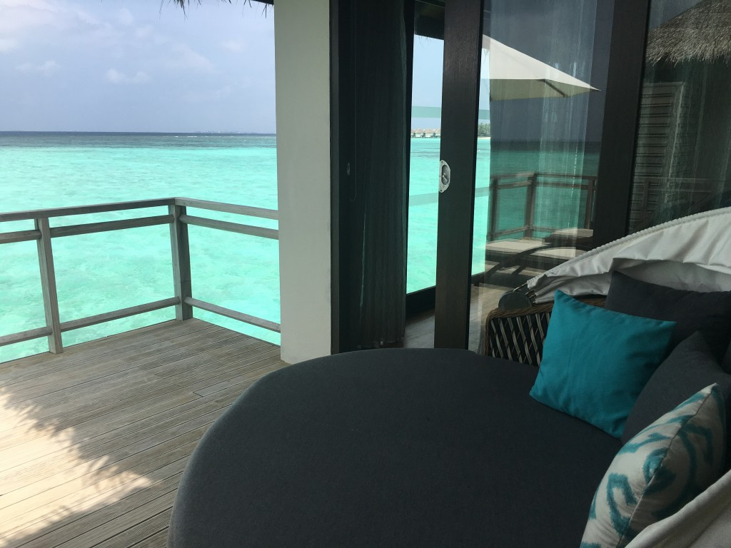 Вид с террасы на океан