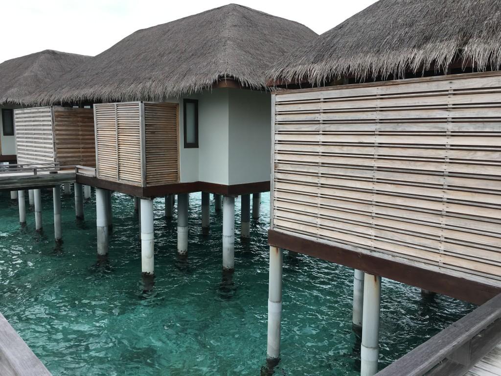 Водные бунгало на Мальдивах