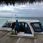 Трансфер на скоростной лодке на Мальдивах – отзыв