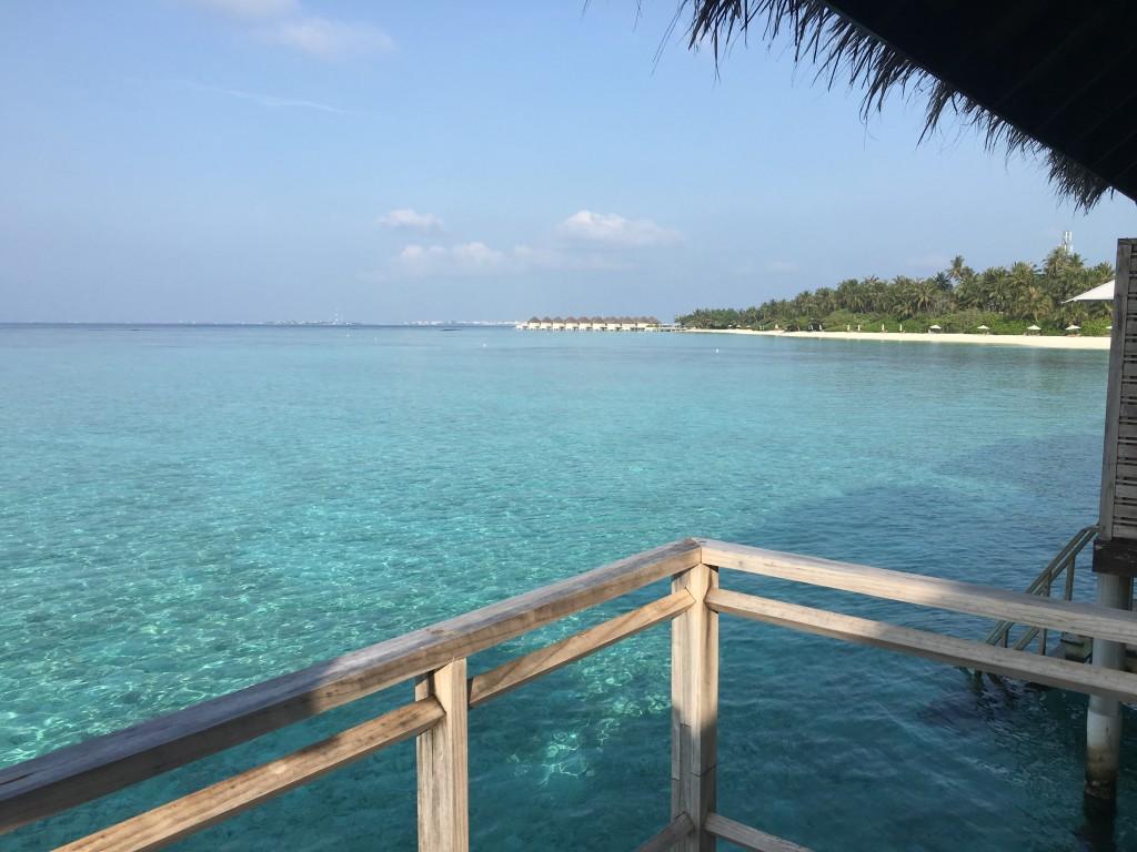 Дом на воде на Мальдивах