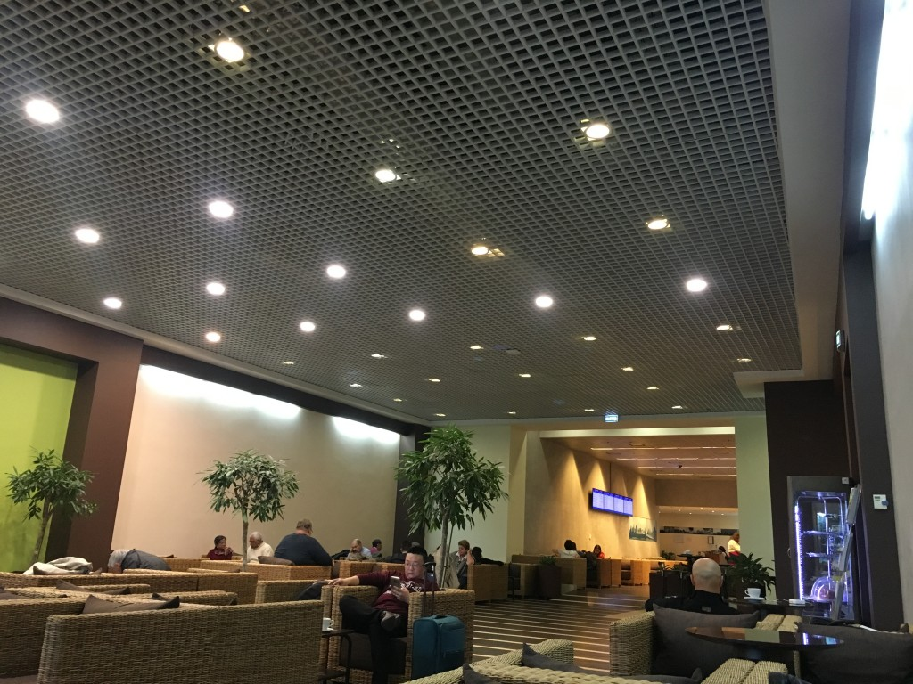 Бизнес зал Домодедово в международной секторе