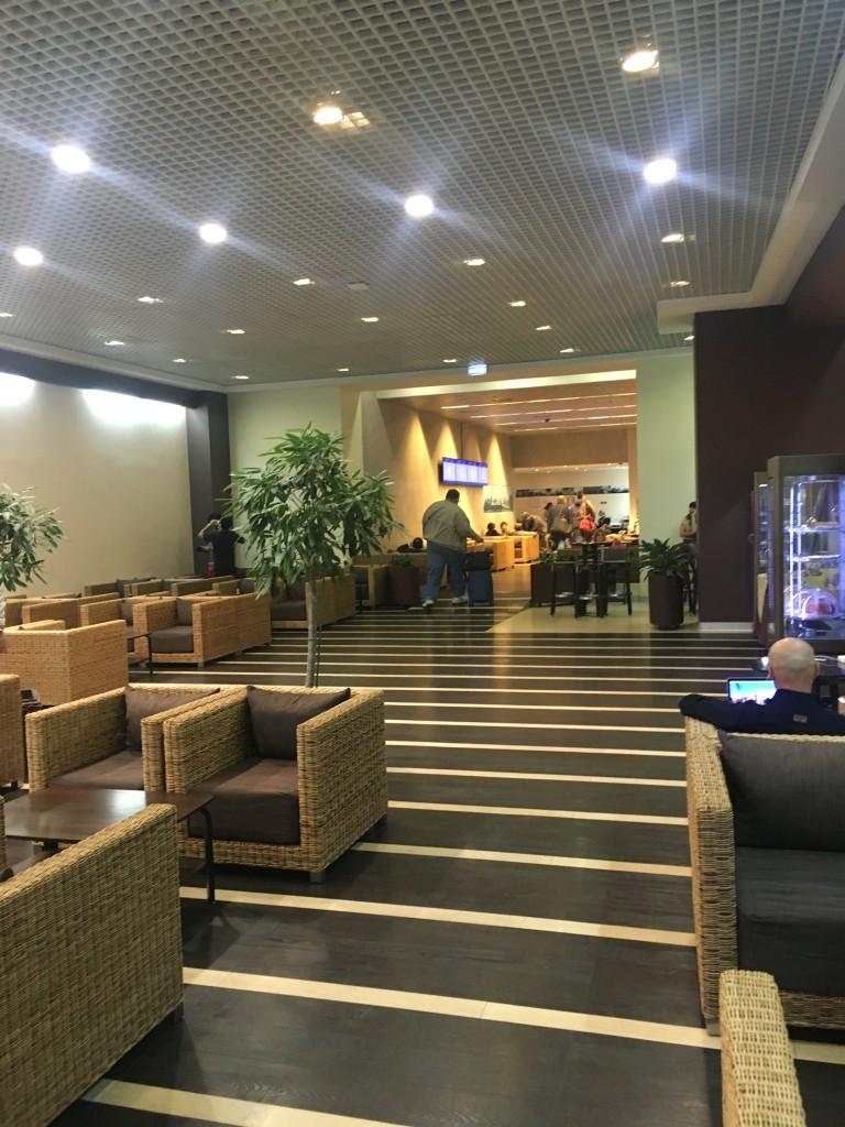 Бизнес зал Домодедово, международный сектор