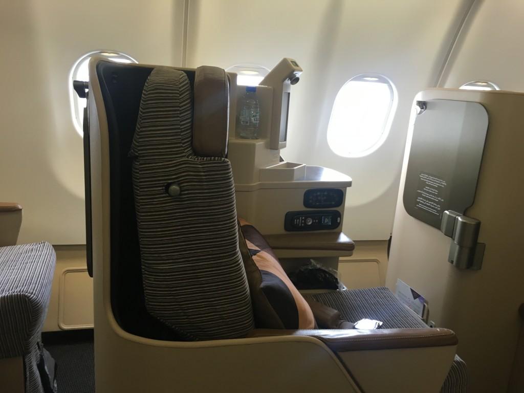Бизнес класс авиакомпании Этихад