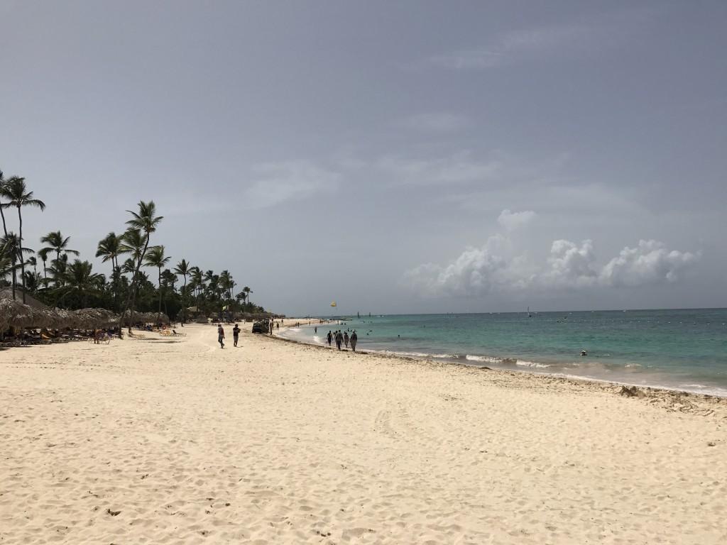 Пляж после обеда в тот же день