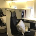Бизнес класс Air France Boeing-777 Париж — Нью-Йорк