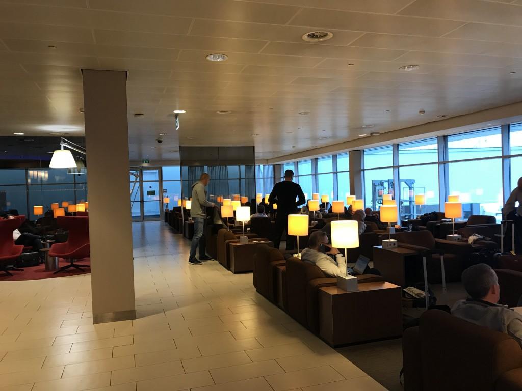 Бизнес лаунж KLM