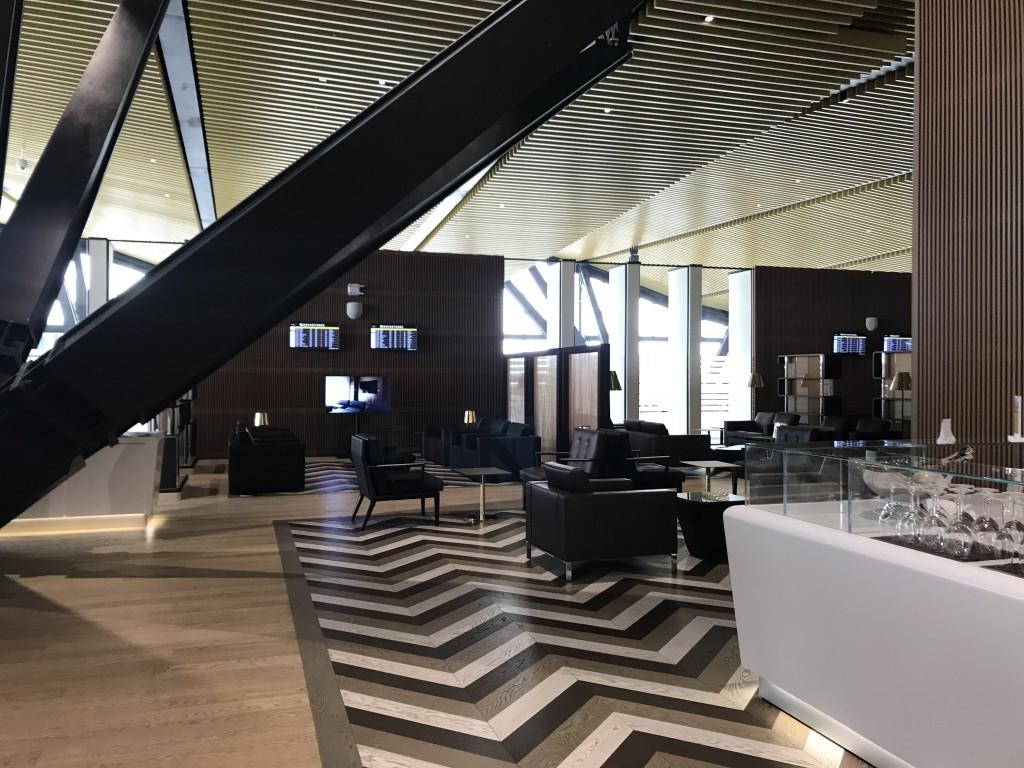 Бизнес-лаунж аэропорта Астана