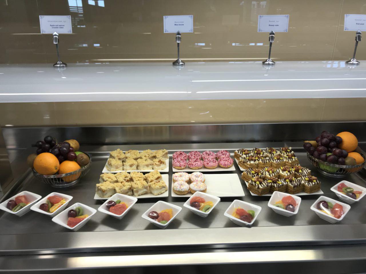 Десерты и фрукты