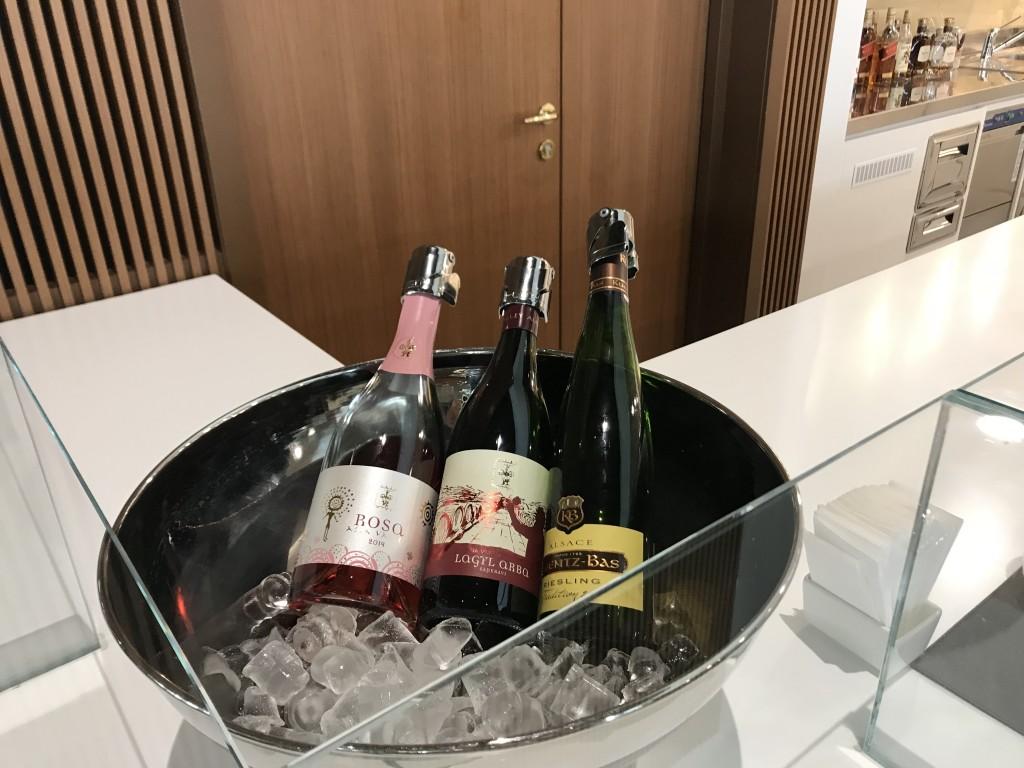 Охлажденное игристое вино