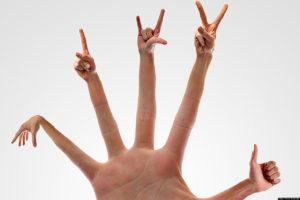 Тест: Что эти жесты означают?