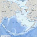 Берингово море – карта, расположение, рельеф дна, солёность, климат берингова моря