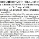 Дополнительное соглашение о пролонгации договора. образец и бланк 2018 года