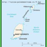 Гренада – карта, флаг, климат и достопримечательности гренады