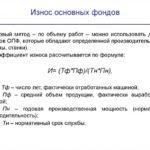 Коэффициент износа основных средств. формула, пример расчёта