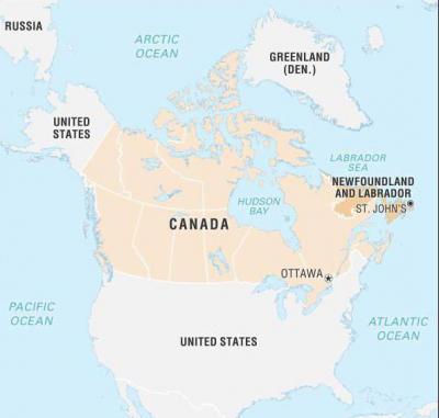 Лабрадорское море – карта, расположение, воды, описание моря лабрадор