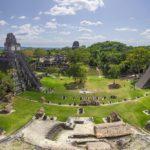 Национальный парк тикаль – пирамиды храмы город тикаль гватемала