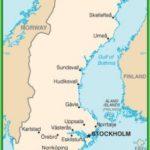 Швеция – карта флаг климат достопримечательности и отдых в швеции