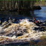 Сплав по рекам карелии в заповеднике кивач – майский сплав