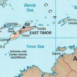 Тиморское море – расположение, климат, карта тиморского моря